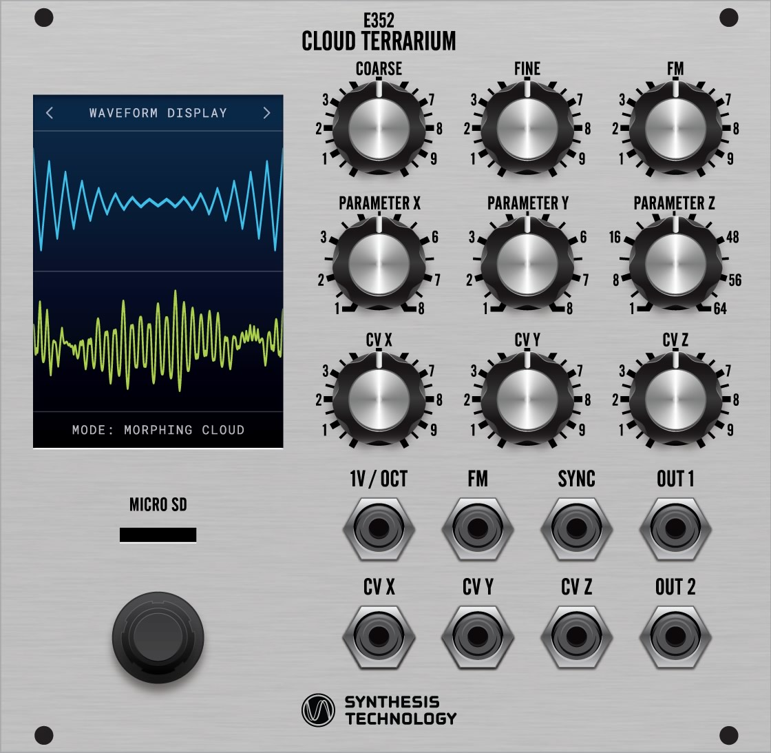 E352 Cloud Terrarium VCO