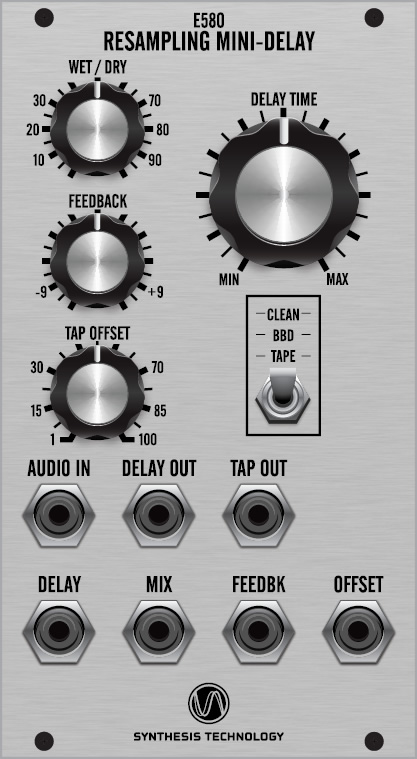E580 Resampling Mini-Delay