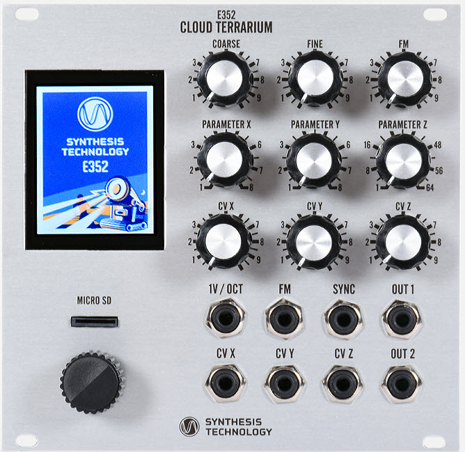 E352 Cloud Terrarium VCO