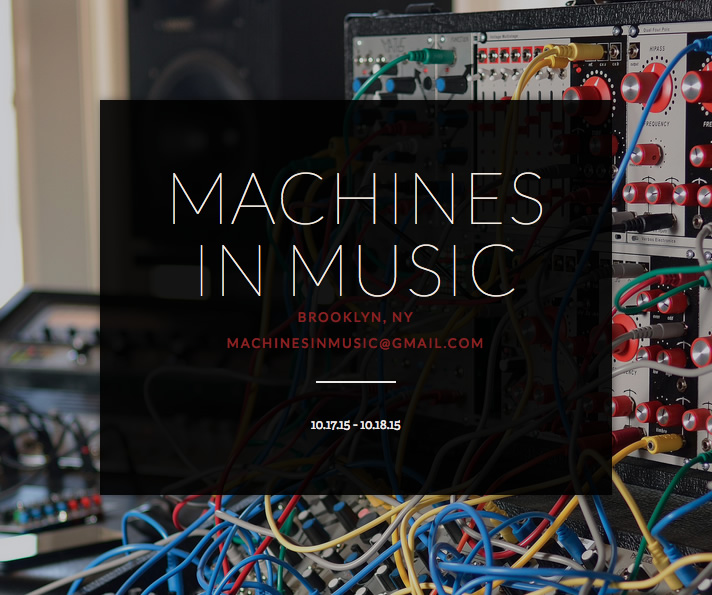 Music in Machines banner
