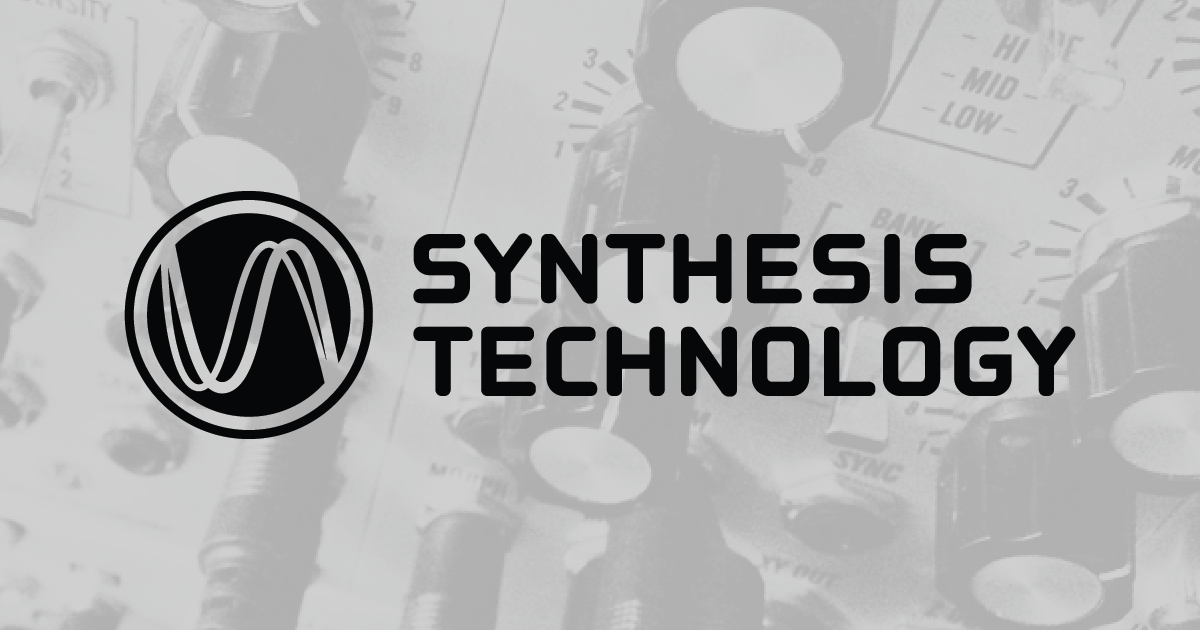 Synthesis Technology - Home